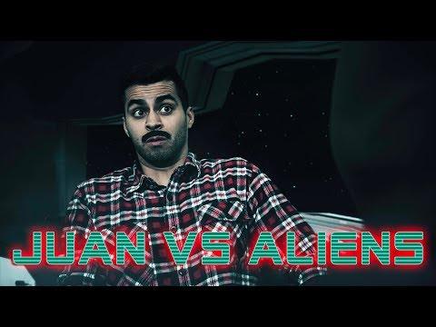 Juan VS Aliens | David Lopez