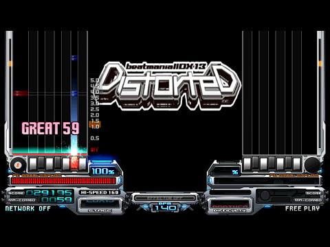 Dj FX - Attack The Music -Another Remix-, 140BPM. Genre, Hard Techno ^^ IIDX13 DiStOrTeD ^^ 【BMS】