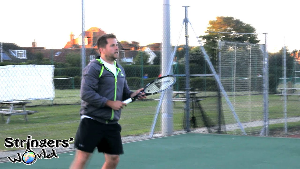 Pro Kennex Black Ace 98 295g Tennis Racket Review From