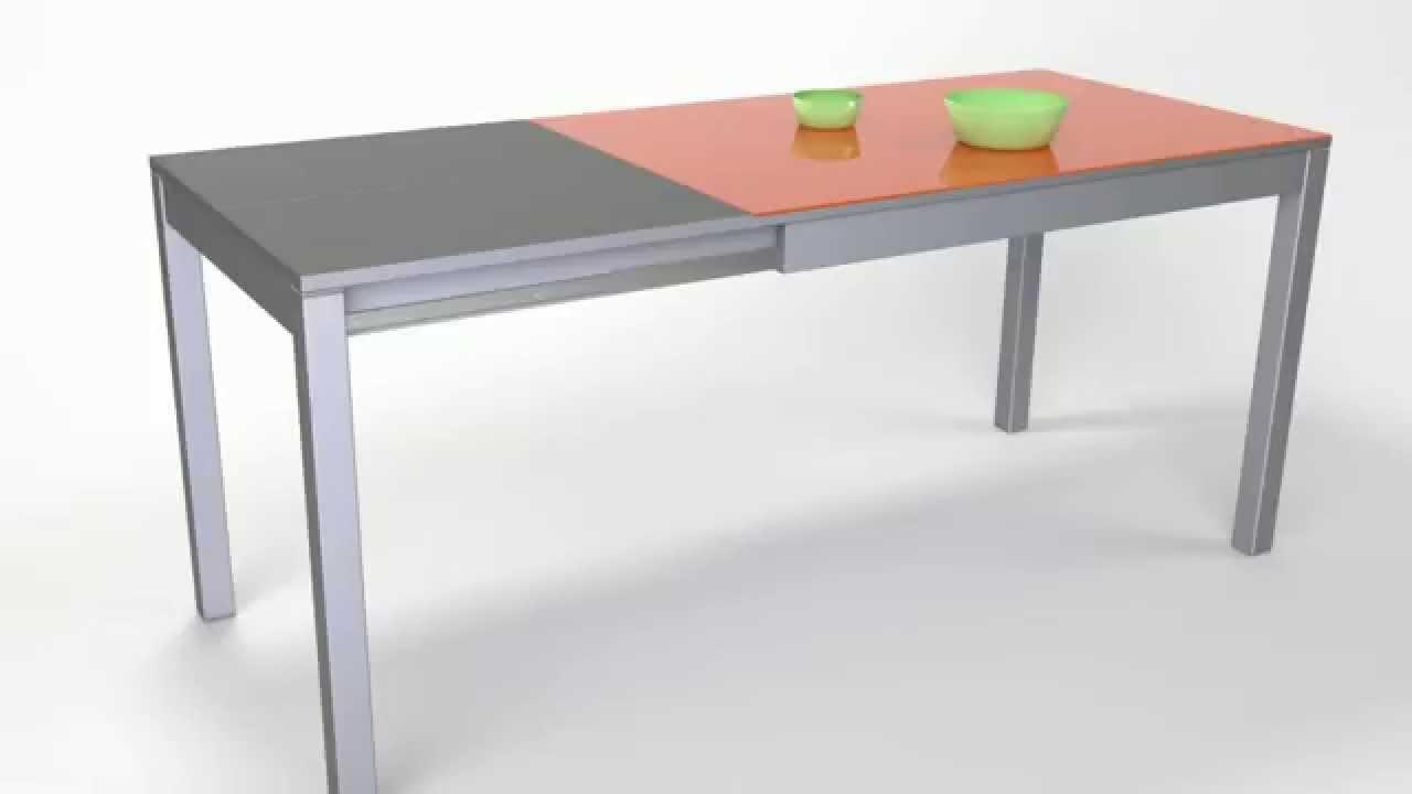 Mesas de cocina argos extensible youtube for Mesas para cocinas estrechas