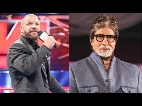 Triple H rocking AMITABH BACHCHAN'S famous dialogue!!