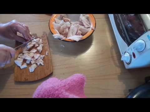 Как засолить утиное сало видео
