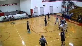 FBC Patriots Basketball vs. Hammond Baptist JV 4 of 4 December 12,2014