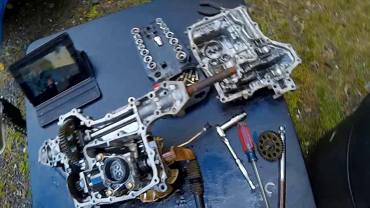 "Disembly of a John Deere LT155 transaxel (Tuff Torque model K51) on john deere lt133 electrical schematic, john deere stx38 wiring schematic, john deere lt160 parts manual, john deere lx172 parts schematic, john deere lt160 42"" deck, john deere lx277 parts schematic, john deere parts diagrams, john deere la130 parts schematic, john deere 185 hydro manual, john deere 265 schematic, john deere lx178 parts schematic, deere lt155 harness schematic, john deere l118 problems, john deere 110 parts schematic, john deere l130 parts schematic, john deere f935 schematics, john deere parts catalog online, john deere lx178 parts list, john deere lt160 parts list, john deere gt235 parts manual,"