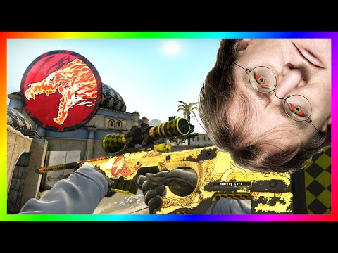 CS:GO The Howling Lore (The Best Worst Decision Ever) Idiot Puts Howling Dawn Sticker On Dragon Lore
