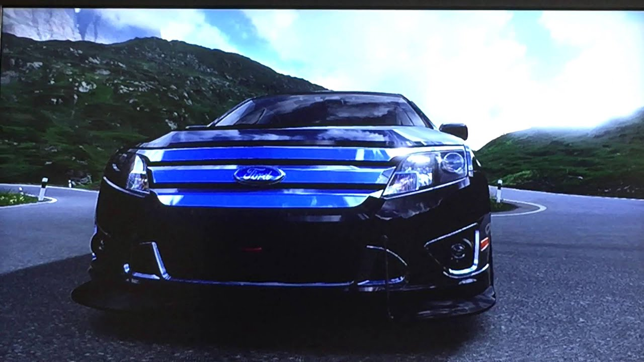 Twin Turbo Ford Fusion Sport Forza 4