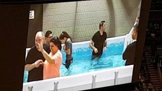 Emily baptized