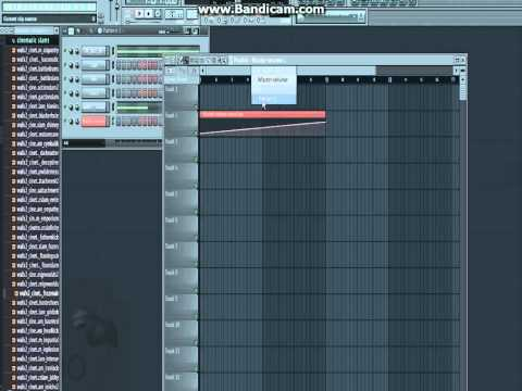 Как сделать нарастающий звук в fl studio 12