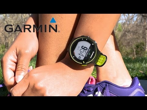 Support: Starting An Outdoor Workout With A Garmin GPS Watch