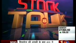 CNBC Awaaz Stock Talk, 19 Oct 2015 - Mr. Mayuresh Joshi