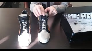 Кроссовки Balmain реплика из Китая - Обзор посылок с TaoBao(, 2014-11-05T14:32:39.000Z)