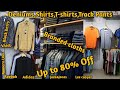 80% Discount on Branded cloths   Deniums, shirts, T-shirts | VANSHMJ