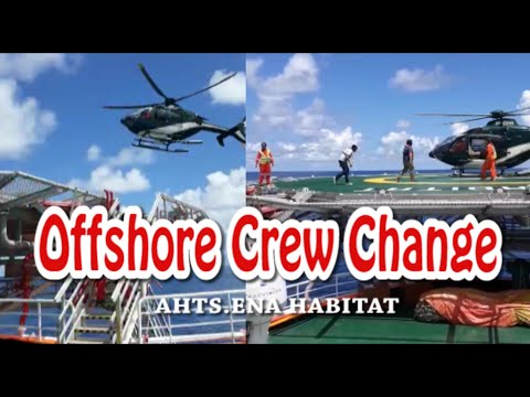 Offshore crew change