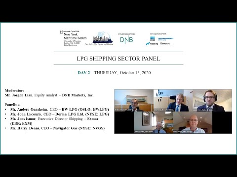 2020 New York Maritime Forum - LPG Shipping Sector Panel