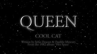 Queen - Cool Cat ( Lyric)
