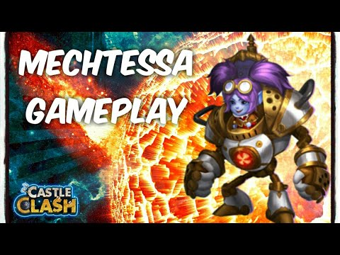 Castle Clash: Mechtessa Gameplay