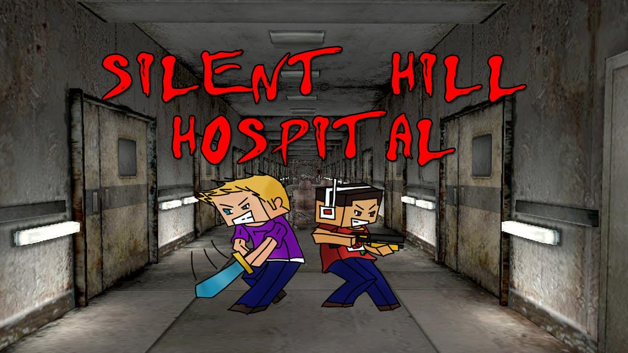 . silent hill hospital horror map (minecraft)  youtube