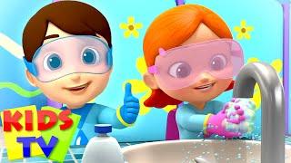 Wash Your Hands Song | Healthy Habits Song | Kids Songs & Nursery Rhymes | Boom Buddies | Kids Tv