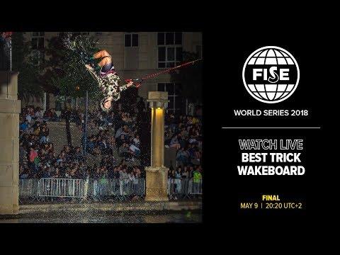 FISE Montpellier 2018: Wakeboard Best Trick