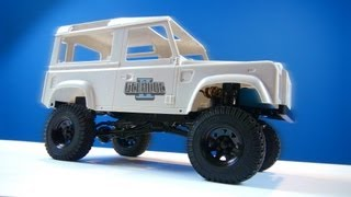 Rc Adventures - Rc4wd Gelände Ii 4x4 Truck Kit W/defender D90 Body Set - Build Video (pt3)