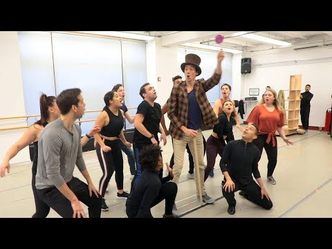 See The New Touring Cast Of CHARLIE AND THE CHOCOLATE FACTORY In The Rehearsal Room