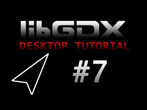 LibGDX Desktop Tutorial (Asteroids) - Part 7 - Creating Asteroids