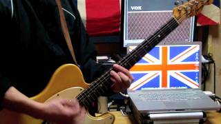 The Jam:In The City / Tribute Guitar Cover.