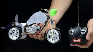 How to Make RC Three Wheel Motorcycle at Home