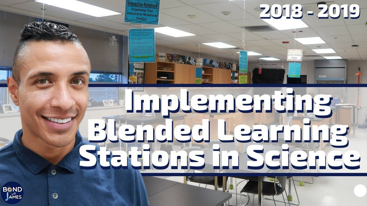 Blended Learning Stations (Matter & Change)   A Week in the Life of a Teacher