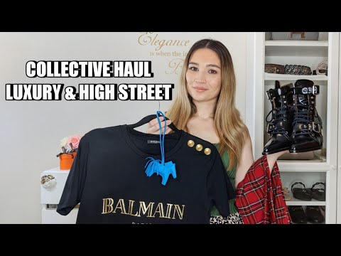 COLLECTIVE HAUL | LUXURY AND HIGH STREET SHOES CLOTHING ACCESSORIES | HERMES FENDI ZARA