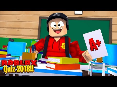 ROBLOX - THE 2018 ROBLOX QUIZ!!