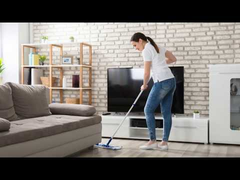 """House Cleaning - Are you """"washing"""" your hardwood floors too much?"""