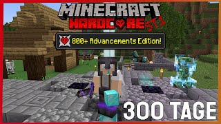 ICH habe 300 Tage in Minecraft HARDCORE überlebt und bis zu 800 neuen Advancements erkundet - Urutox