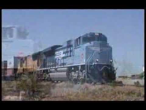 Union Pacific's MoPac Heritage Unit - UP 1982