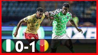 NIGERIA VS CAMEROON0-1-FRIENDLY-GOALSampHIGHLIGHTS