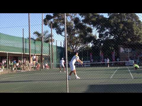 Tennis champs in South Africa