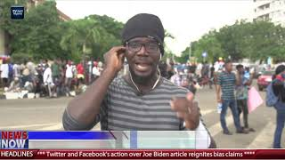 Hoodlums attack #ENDSARS Protesters in Lagos