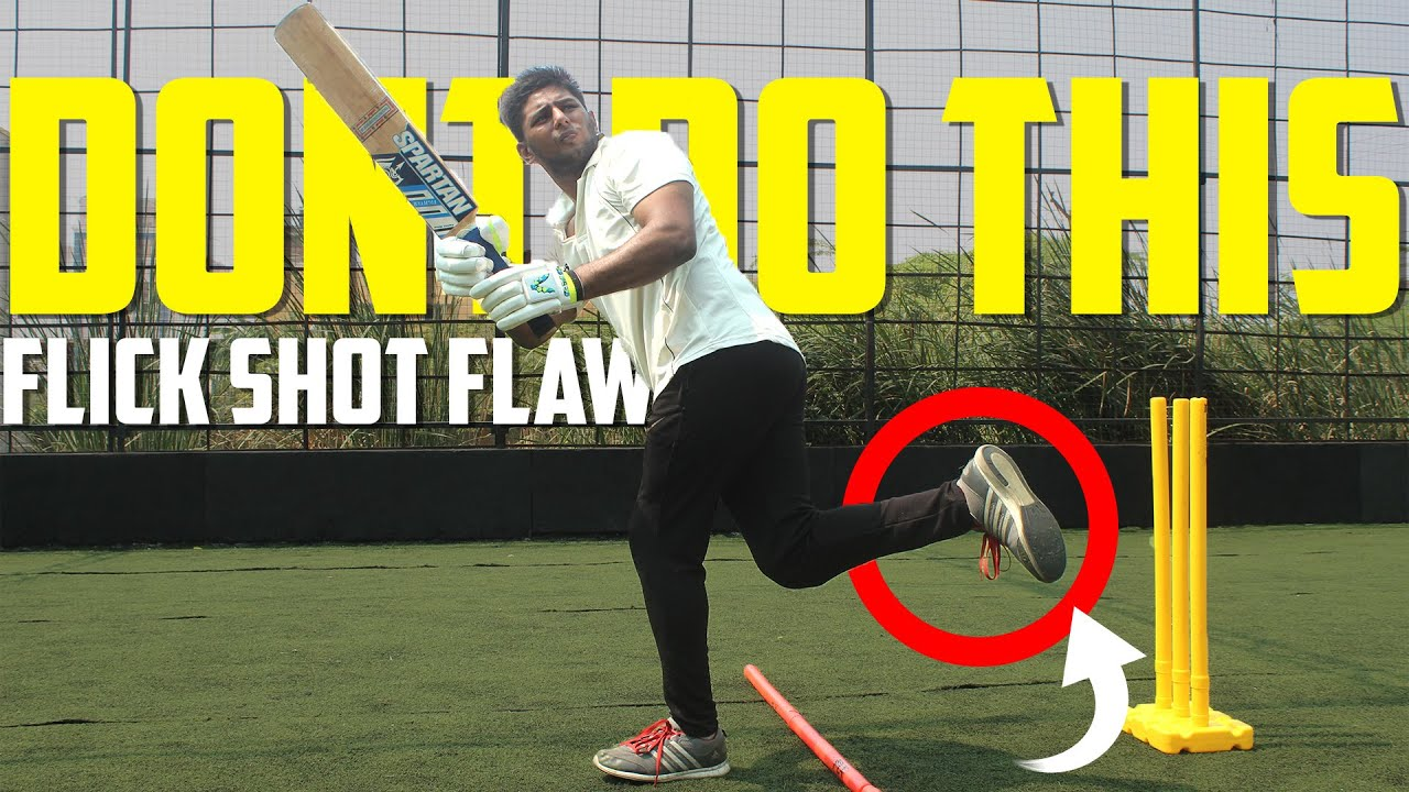 Dont Do This - Flick Shot Flaw | Cricket Batting Tips | Nothing But Cricket