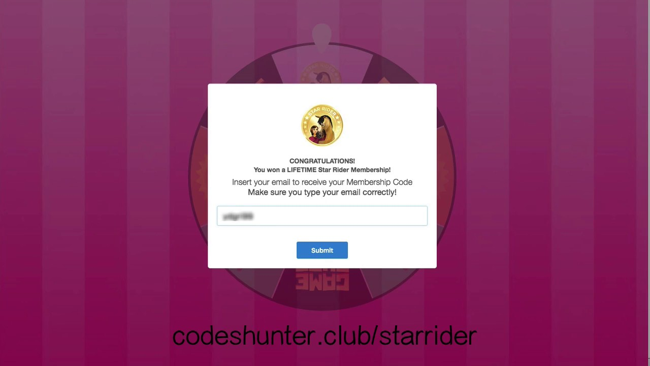 Star stable free star rider codes giveaways