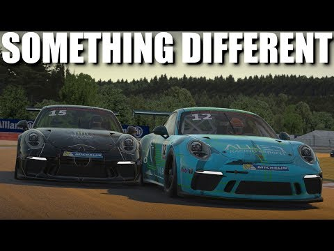 IRacing   Decent Scrappy 3.7k SOF Porsche 911 Cup Race @ Spa   After The Event Voice Over :)