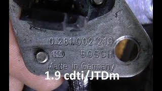 Wymiana czujnika wałka rozrządu - 1.9 cdti, Z19DT, Z19DTL, P0340, Astra, Vectra, Zafira, Alfa