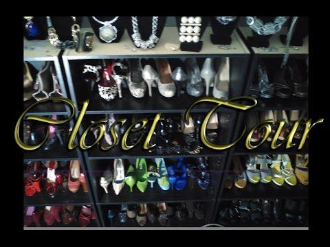Closet Tour |  Transform your  spare bedroom into a walk in closet