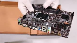 Unboxing MSI H310M PRO-VD s1151 H310 hands on (not a review)