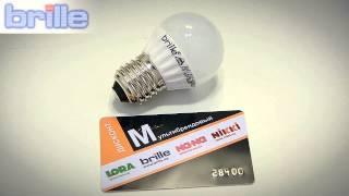 Видеообзор Лампа светодиодная LED E27 4.5W(, 2014-03-21T14:12:56.000Z)
