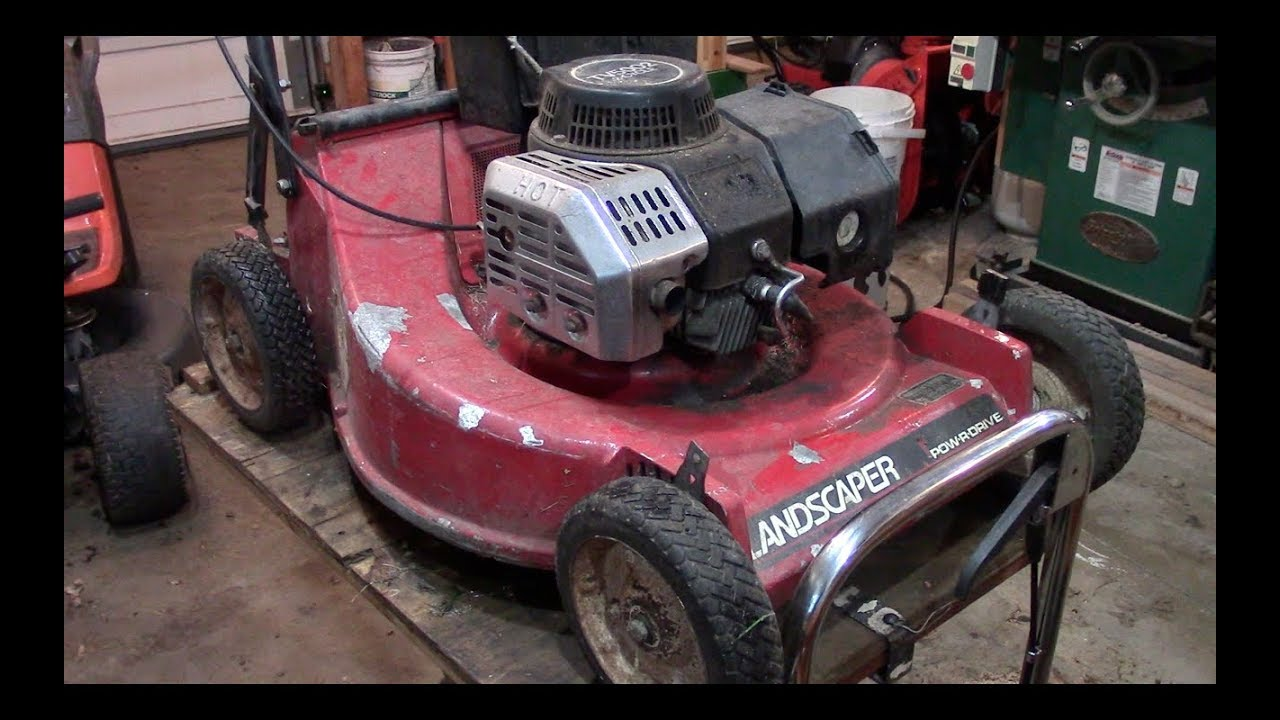 Build Quality A Toro Commercial 2 Cycle Lawnmower
