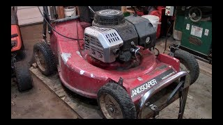 Lawn Care - Toro Commercial push mower  2 Cycle Suzuki