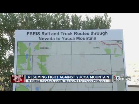 Nevada Gears Up To Fight Yucca Mountain Nuke Waste Site