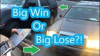 I Won A $300 Mercedes 400E & Lincoln Navigator At Auction