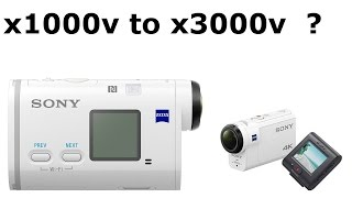 Upgrade from x1000v to x3000v?