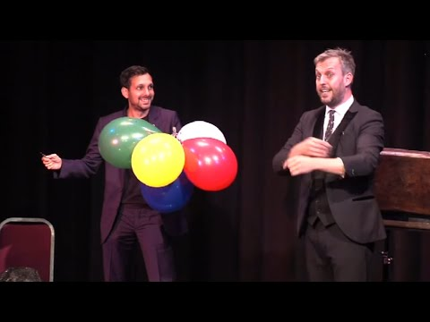 Dynamo meets comedy magician Alan Hudson from The Next Great Magician